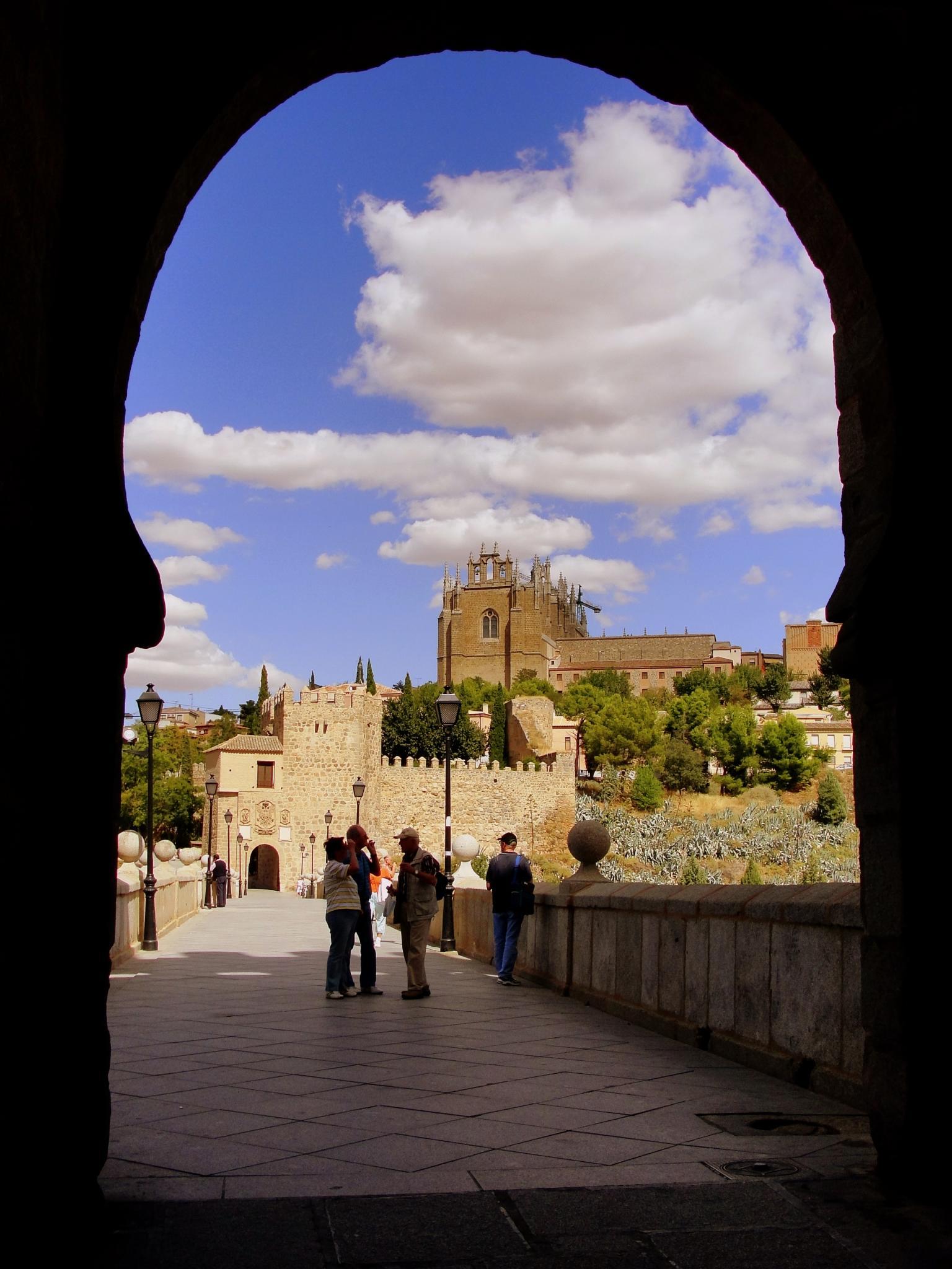 Puente San Martin Toledo File:puente de San Martín