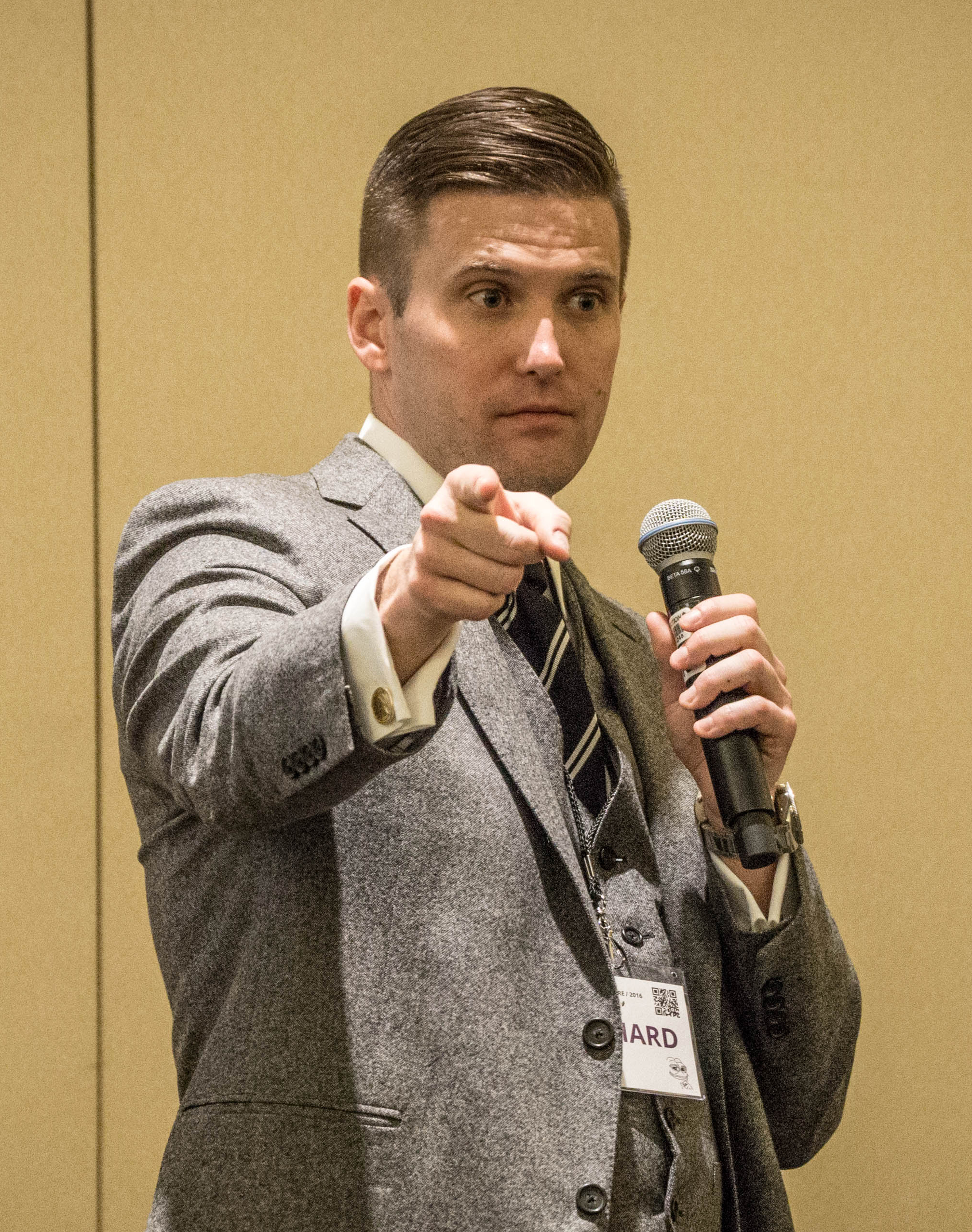 Richard Spencer By Vas Panagiotopoulos (https://www.flickr.com/photos/vas/30910084580/) [CC BY 2.0 (http://creativecommons.org/licenses/by/2.0)], via Wikimedia Commons