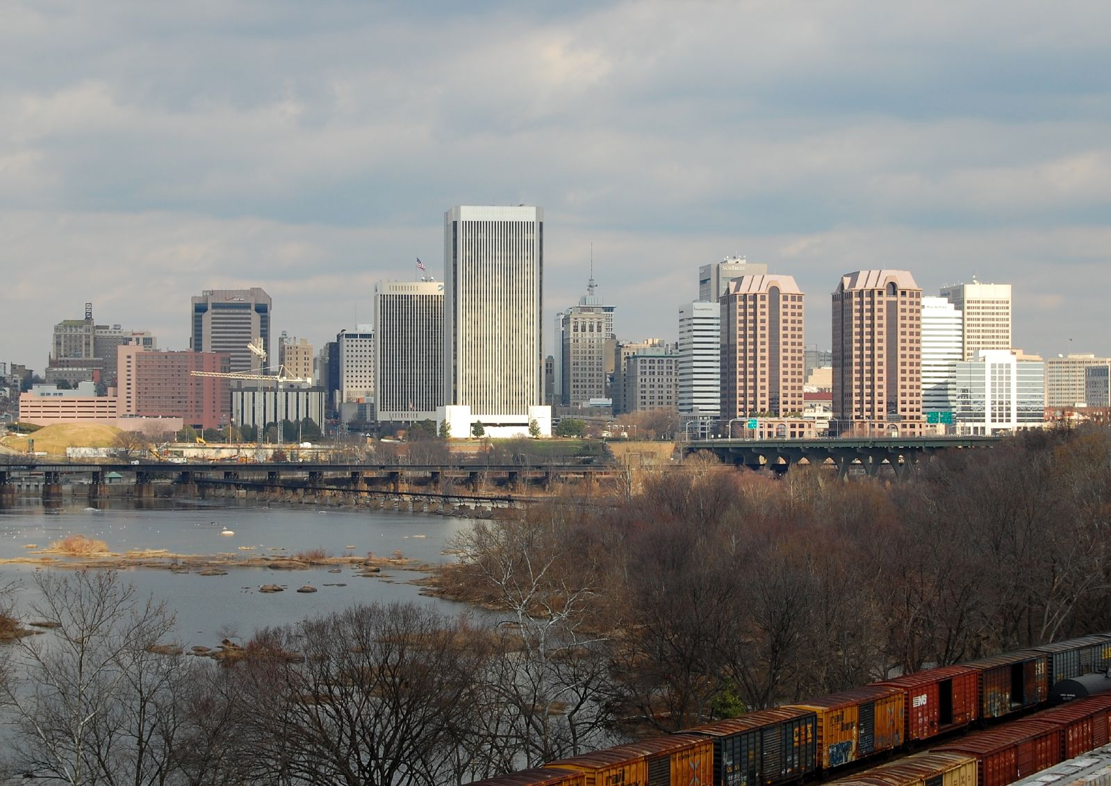 City Of Richmond Va >> List Of Tallest Buildings In Richmond Virginia Wikipedia