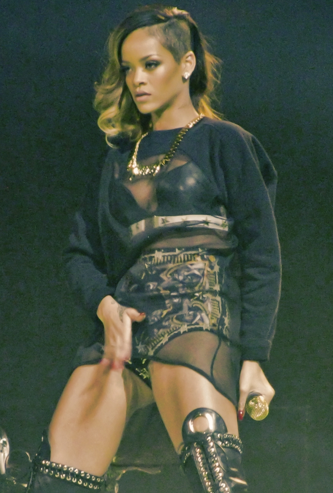 Rihanna Größe