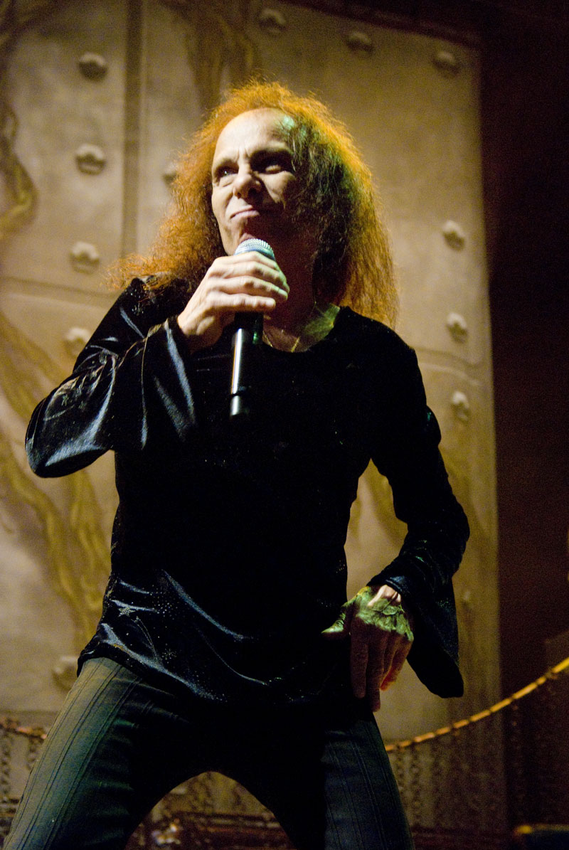 Photo Ronnie James Dio via Opendata BNF