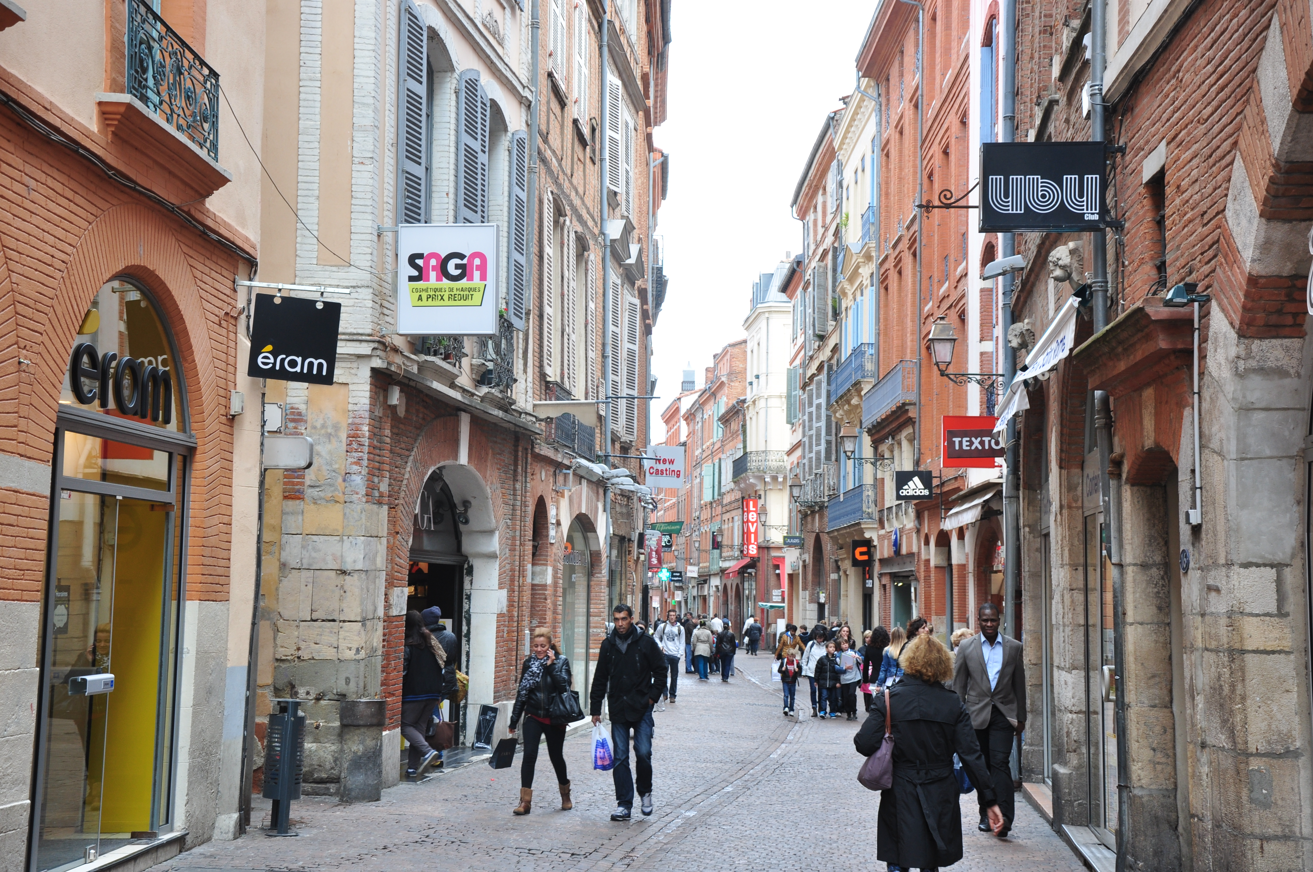 File Rue Saint Rome Toulouse Midi Pyr 233 N 233 Es France