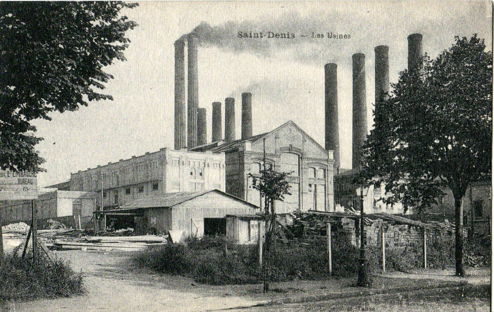 Fichier saint denis les usines jpg wikip dia for Histoire des jardins wikipedia