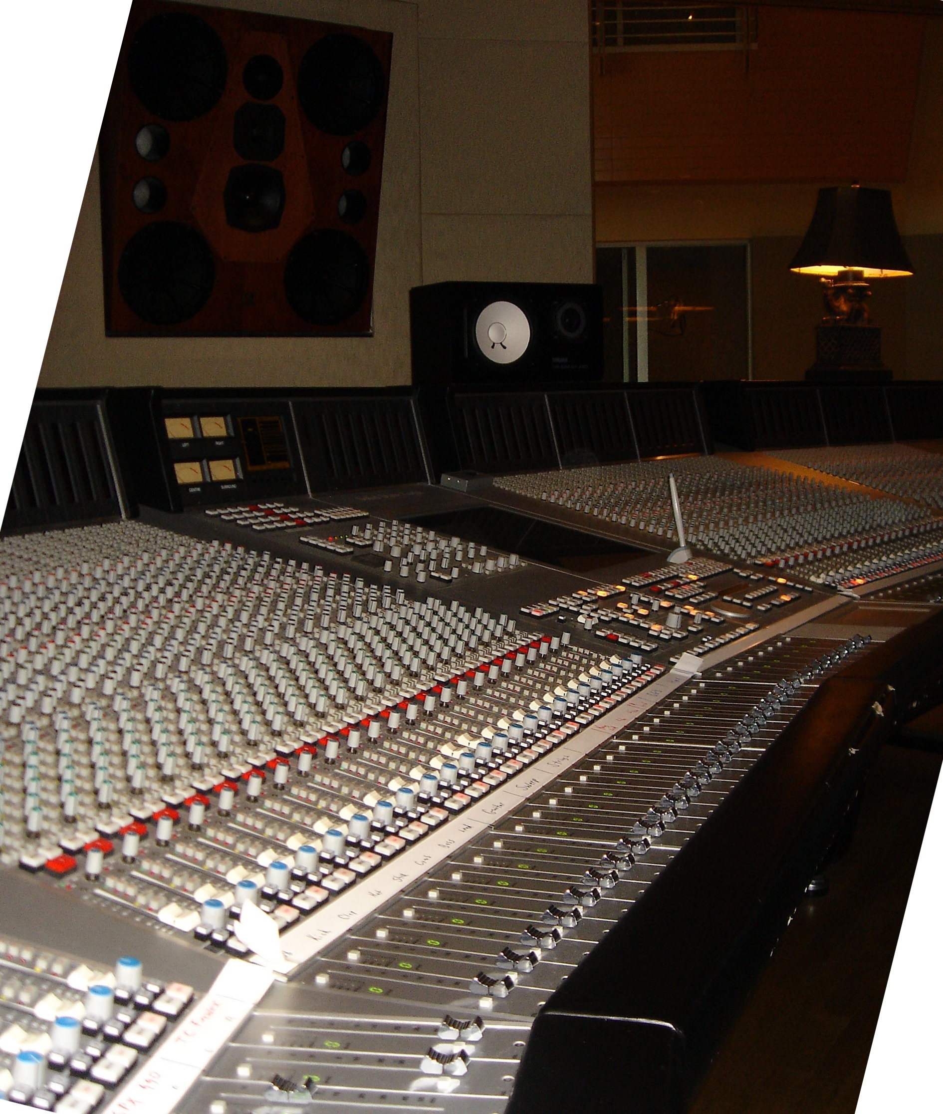 Recording Control Room Design