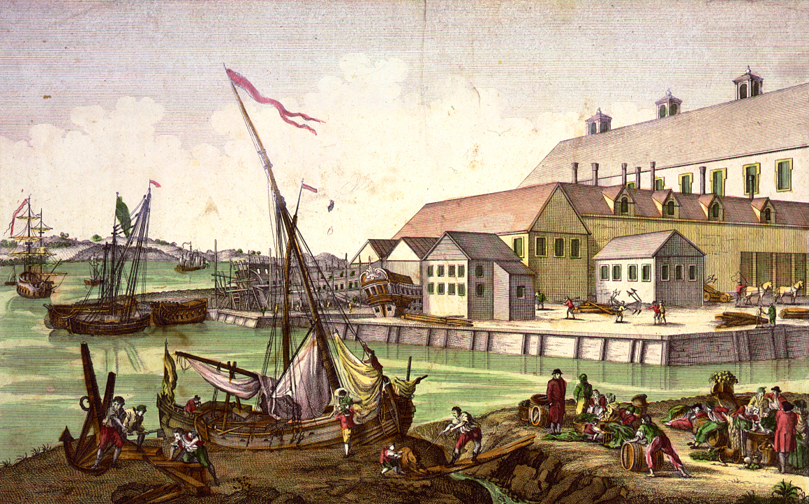 shipping - Salem, Mass shipping in the 1770s