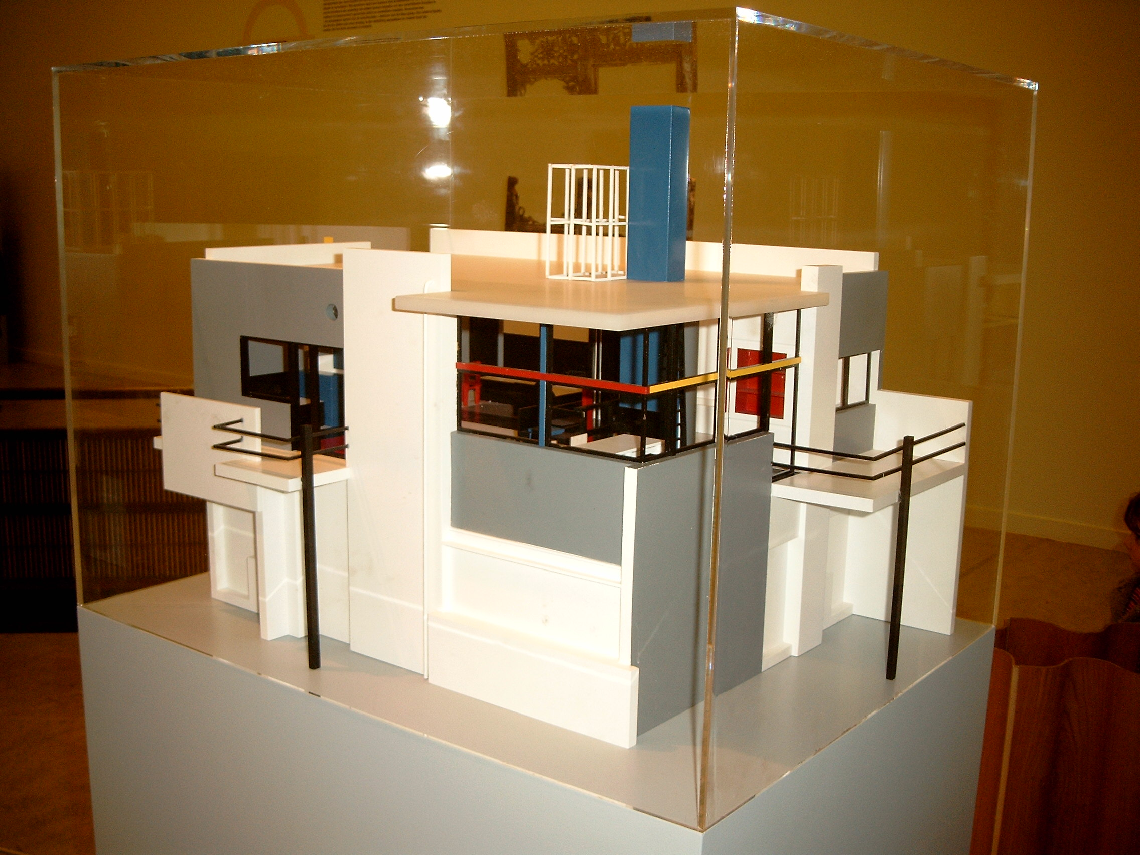 ap rietveld schroder house. Black Bedroom Furniture Sets. Home Design Ideas