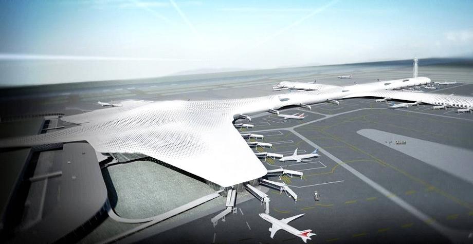 aeroporto Shenzhen Bao'an di Massimiliano Fuksas