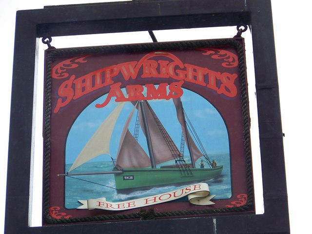 Sign for the Shipwrights Arms - geograph.org.uk - 941548
