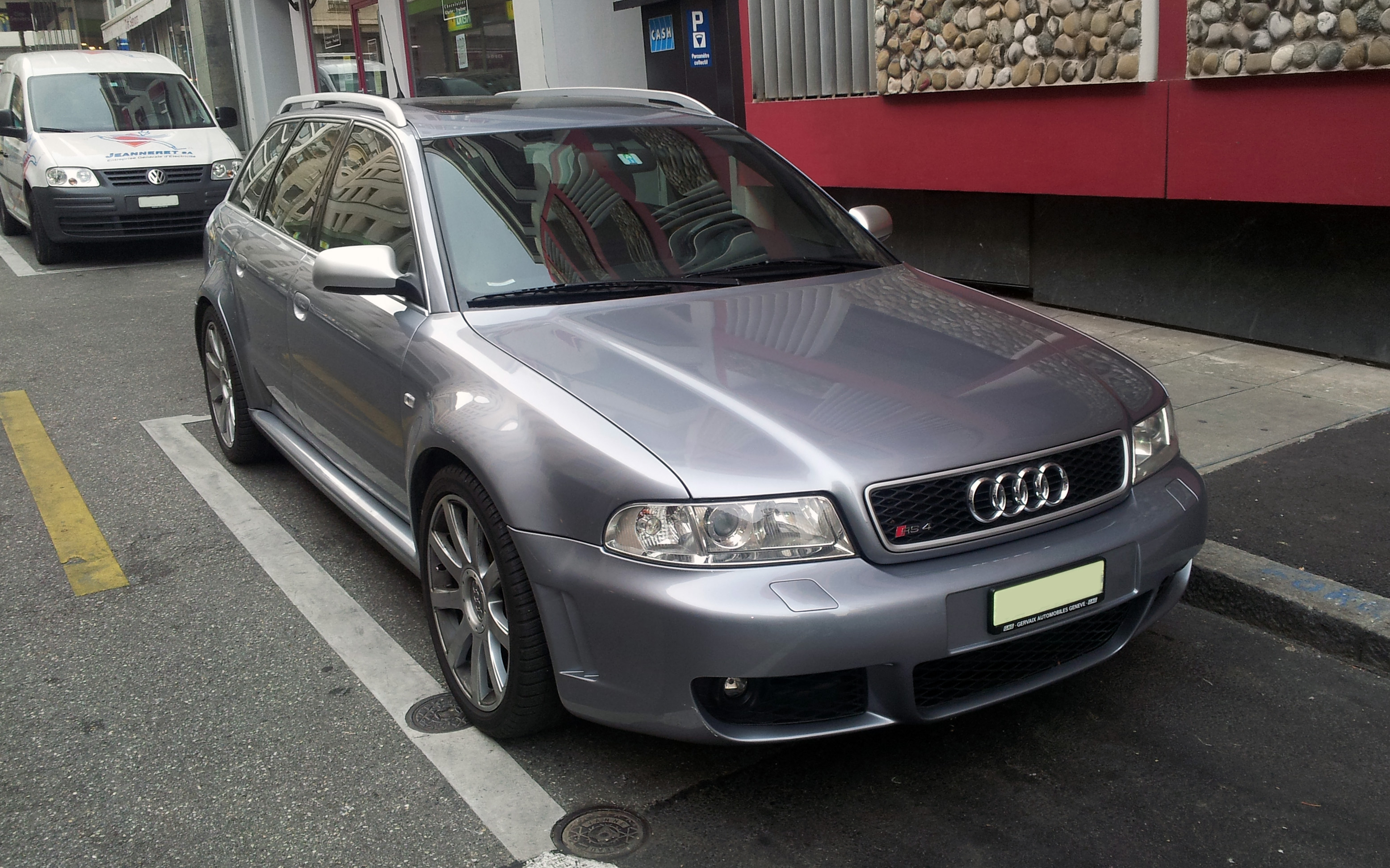 File Silver Audi Rs4 B5 Fr Jpg Wikimedia Commons