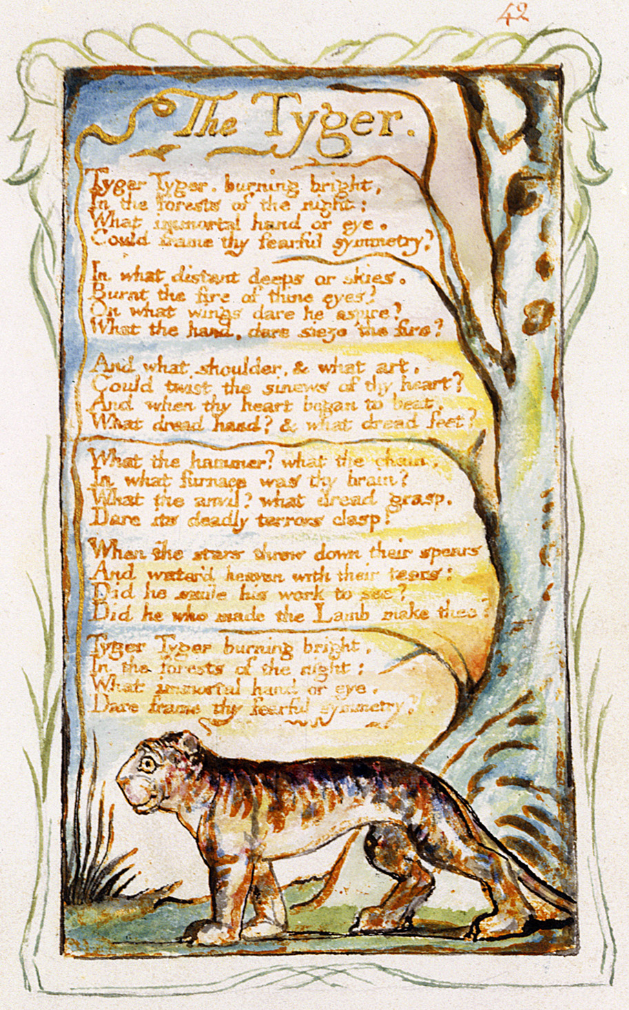essay william blake tyger lamb Lamb and Tyger William Blake