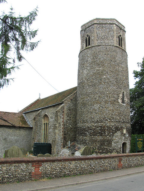 Confused Christian History - the Norfolk Find St_Andrew,_Great_Ryburgh,_Norfolk_-_geograph.org.uk_-_321105