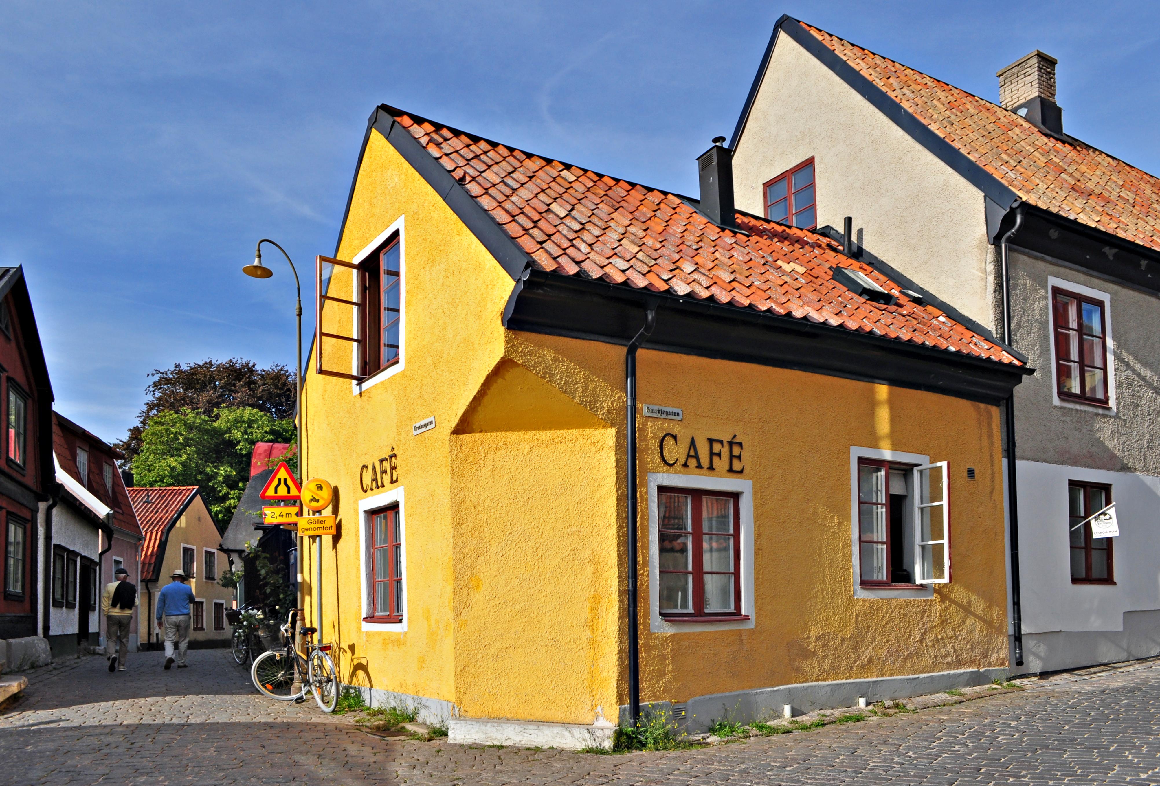 gula huset visby