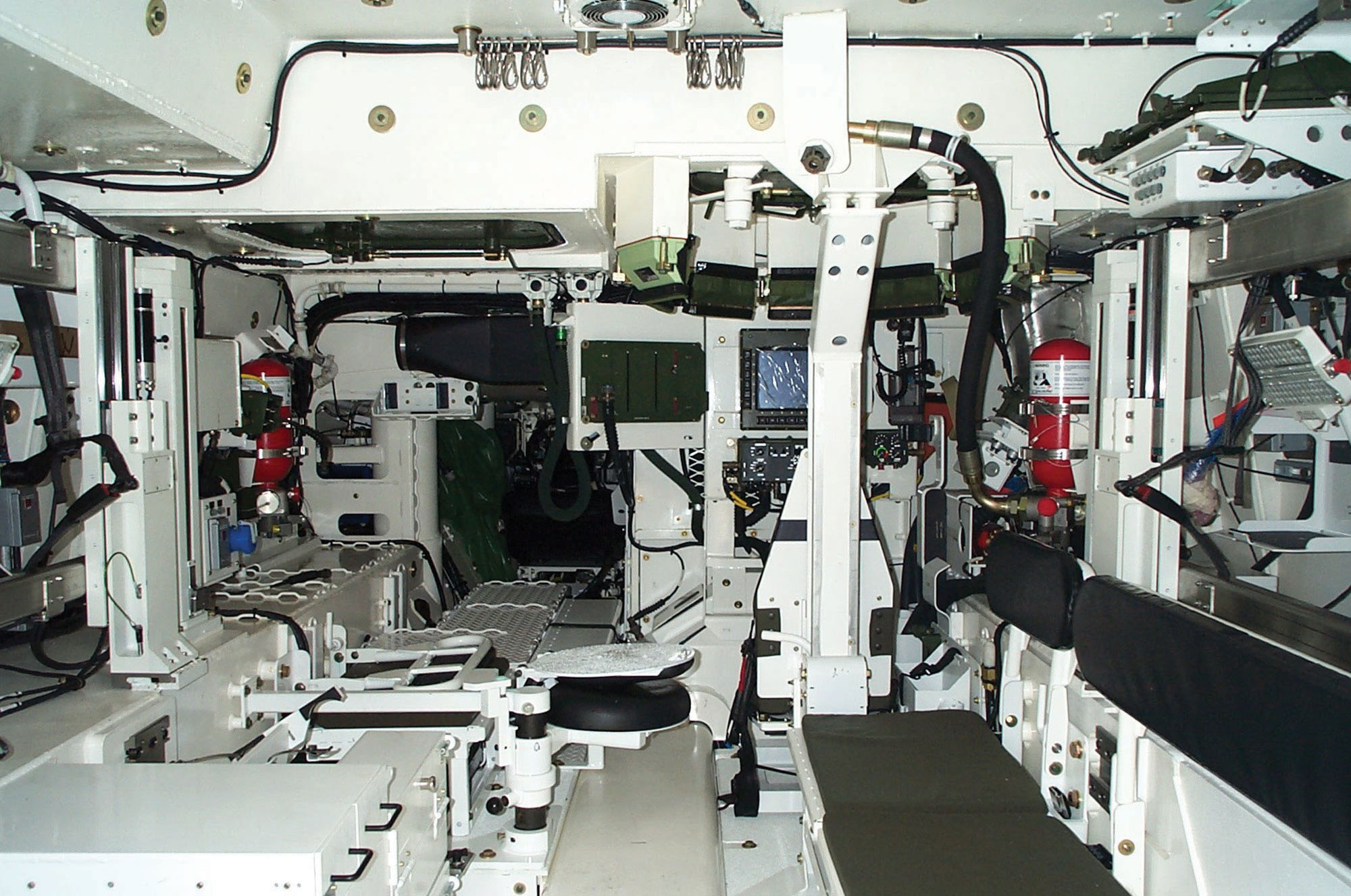 M113 Apc For Sale >> File:Strykerinterior lg.jpg - Wikimedia Commons