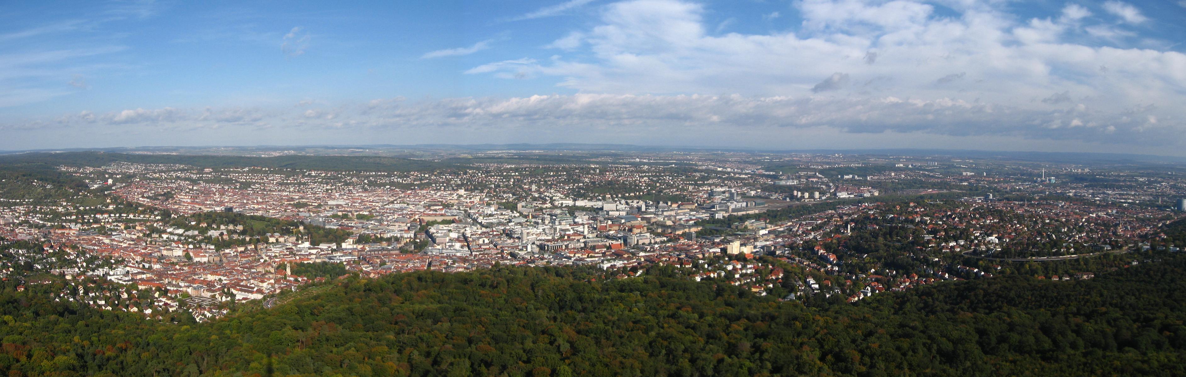 Image result for Stuttgart panorama