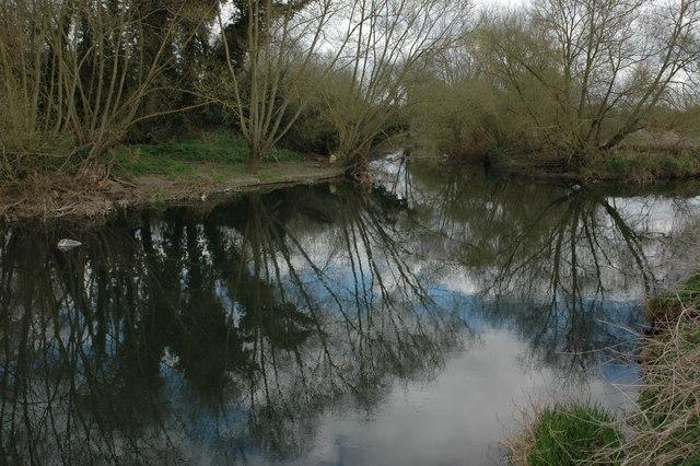 The River Avon at Barton - geograph.org.uk - 1229223