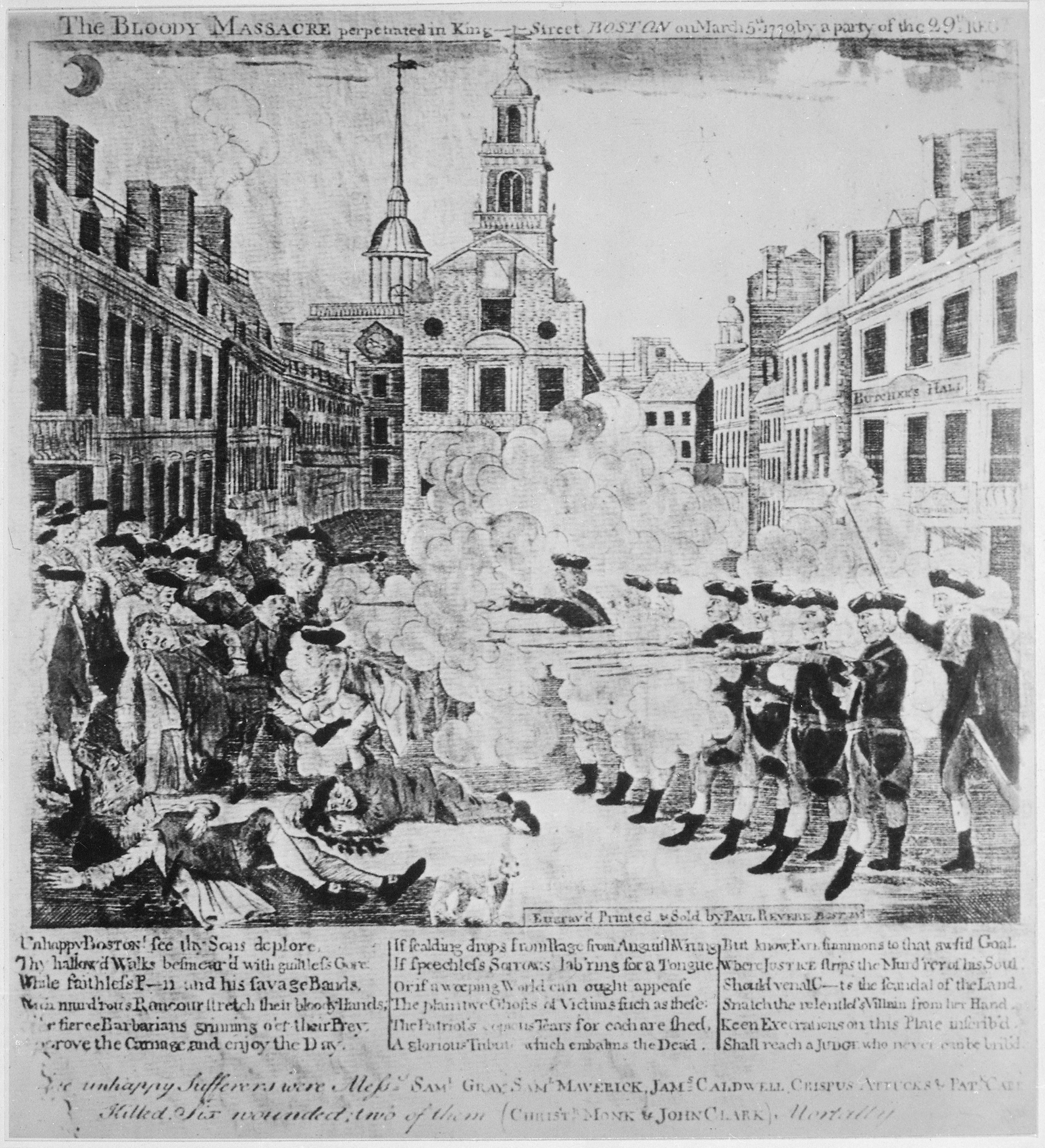an overview of the infamous boston massacre of 1770 Boston massacre propaganda:  on march 5 of 1770,  lesson summary the boston massacre was an event on march 5, .