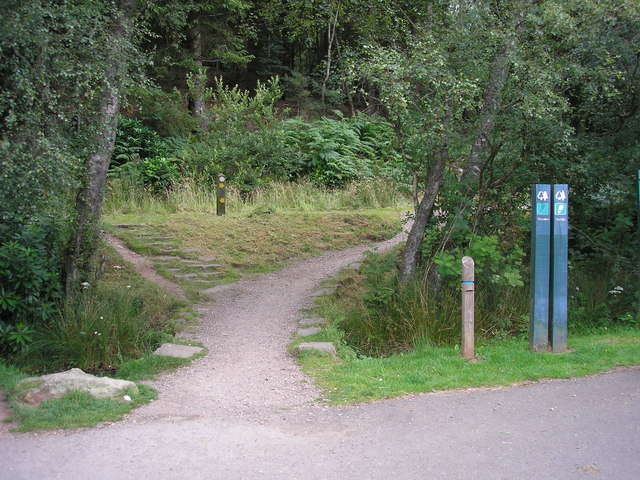 The start of the Millennium Forest Footpath at Balmaha - geograph.org.uk - 1404713