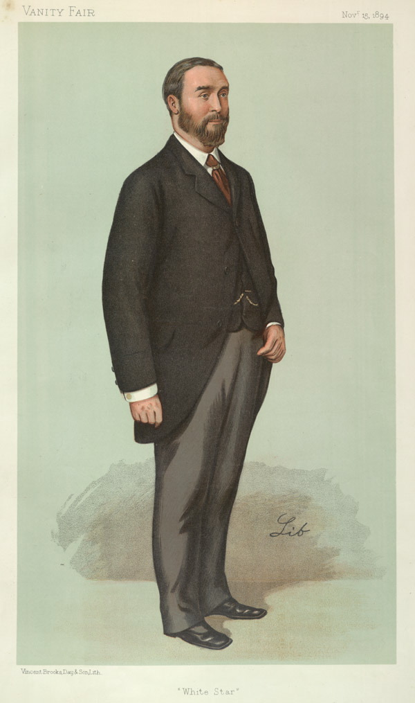 ismay guys J bruce ismay, chairman and managing director of the white star line  the shy  and private ismay disliked press attention and the two men fell.