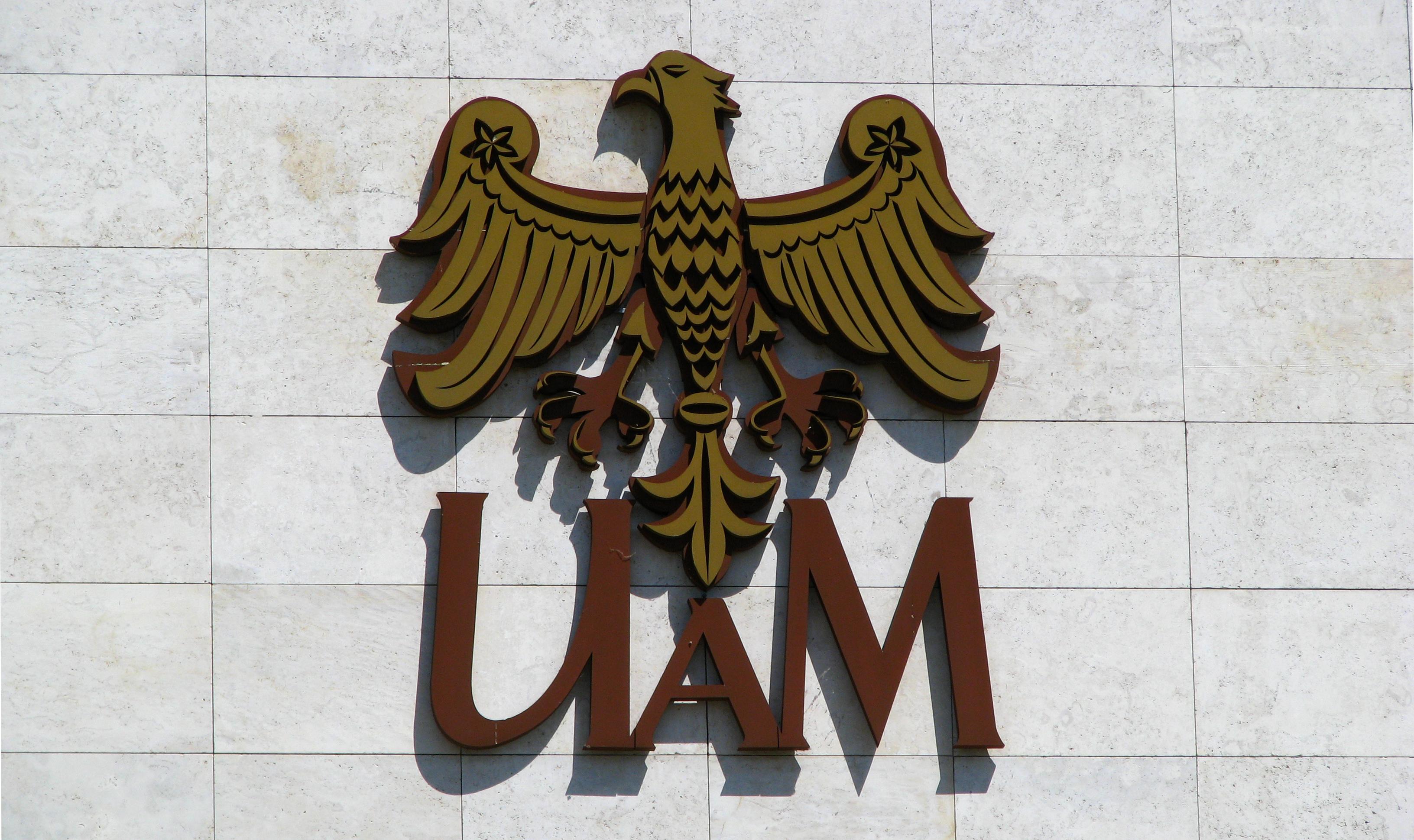 Logo of Adam Mickiewicz University in Poznań
