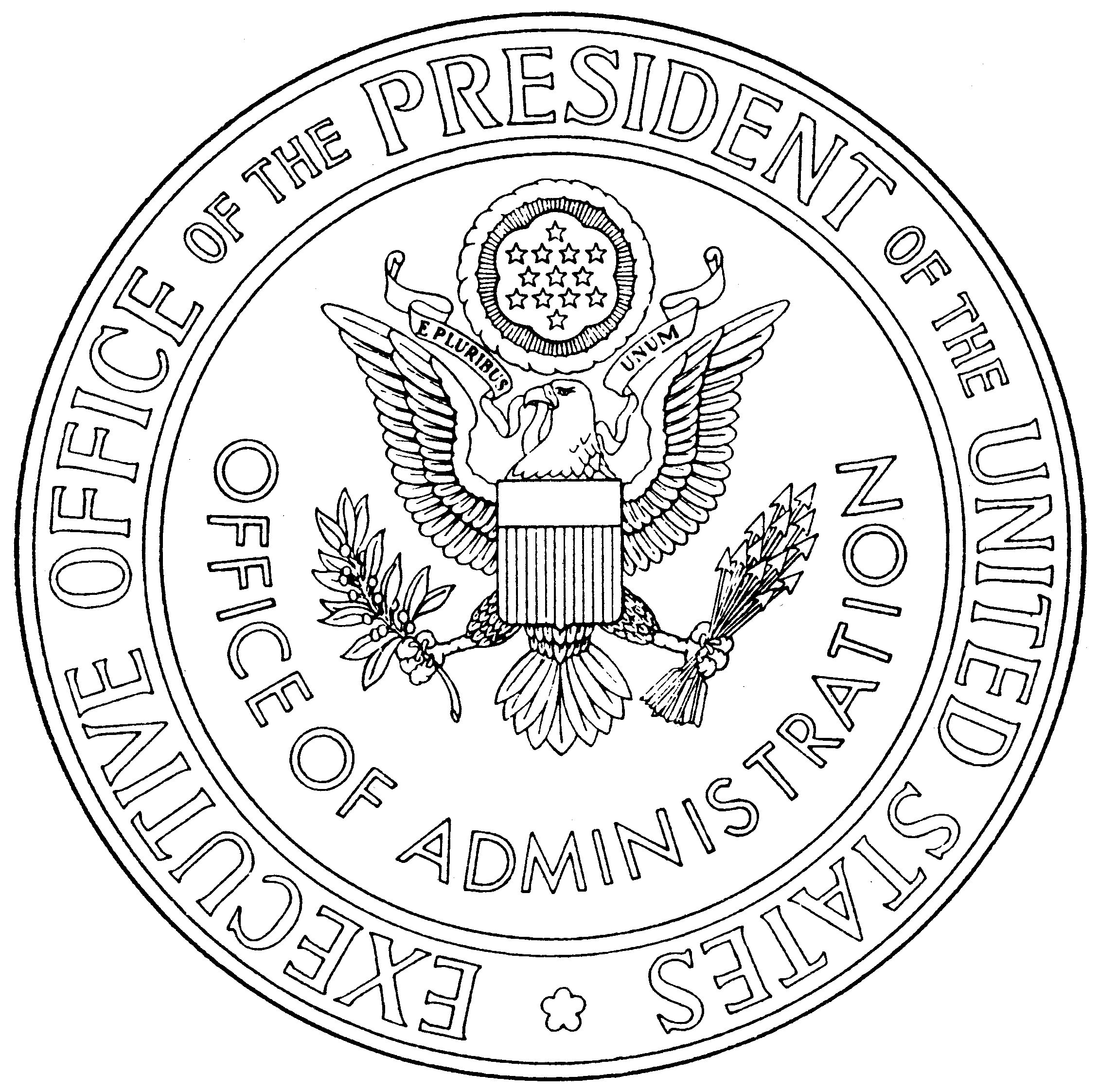 File Us Eop Officeofadministration Seal Eo12112 Jpg Wikimedia Commons