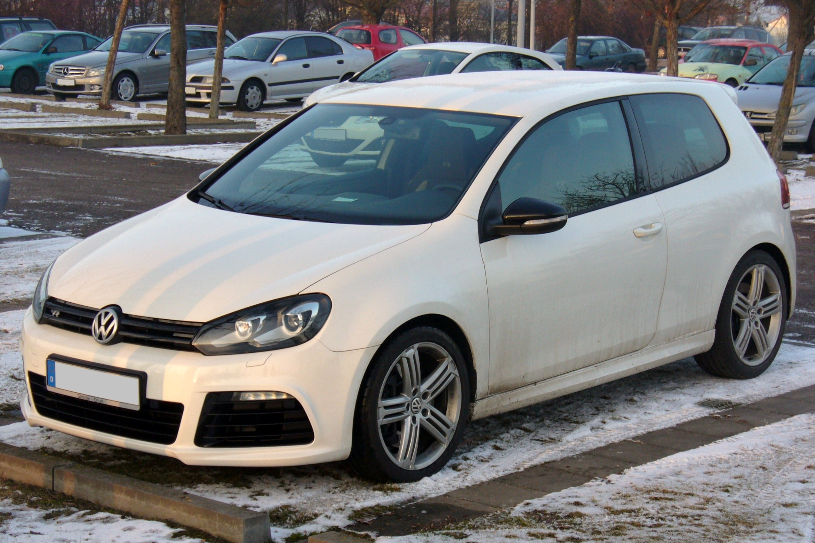 file vw golf vi r candywei jpg wikimedia commons. Black Bedroom Furniture Sets. Home Design Ideas