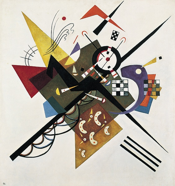 Wassily Kandinsky, On White