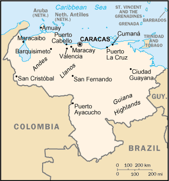 CIA World Fact Book, 2004/Venezuela - Wikisource, the free online ...