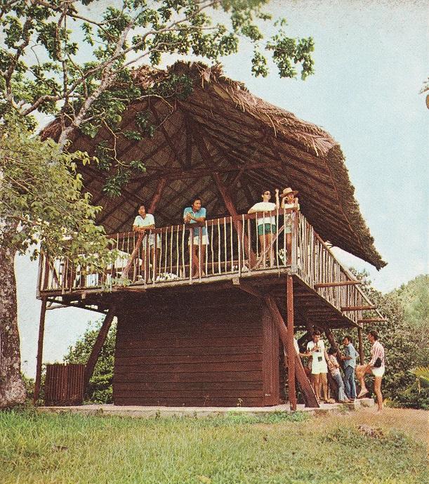 Manmade hut in Valle De Mai
