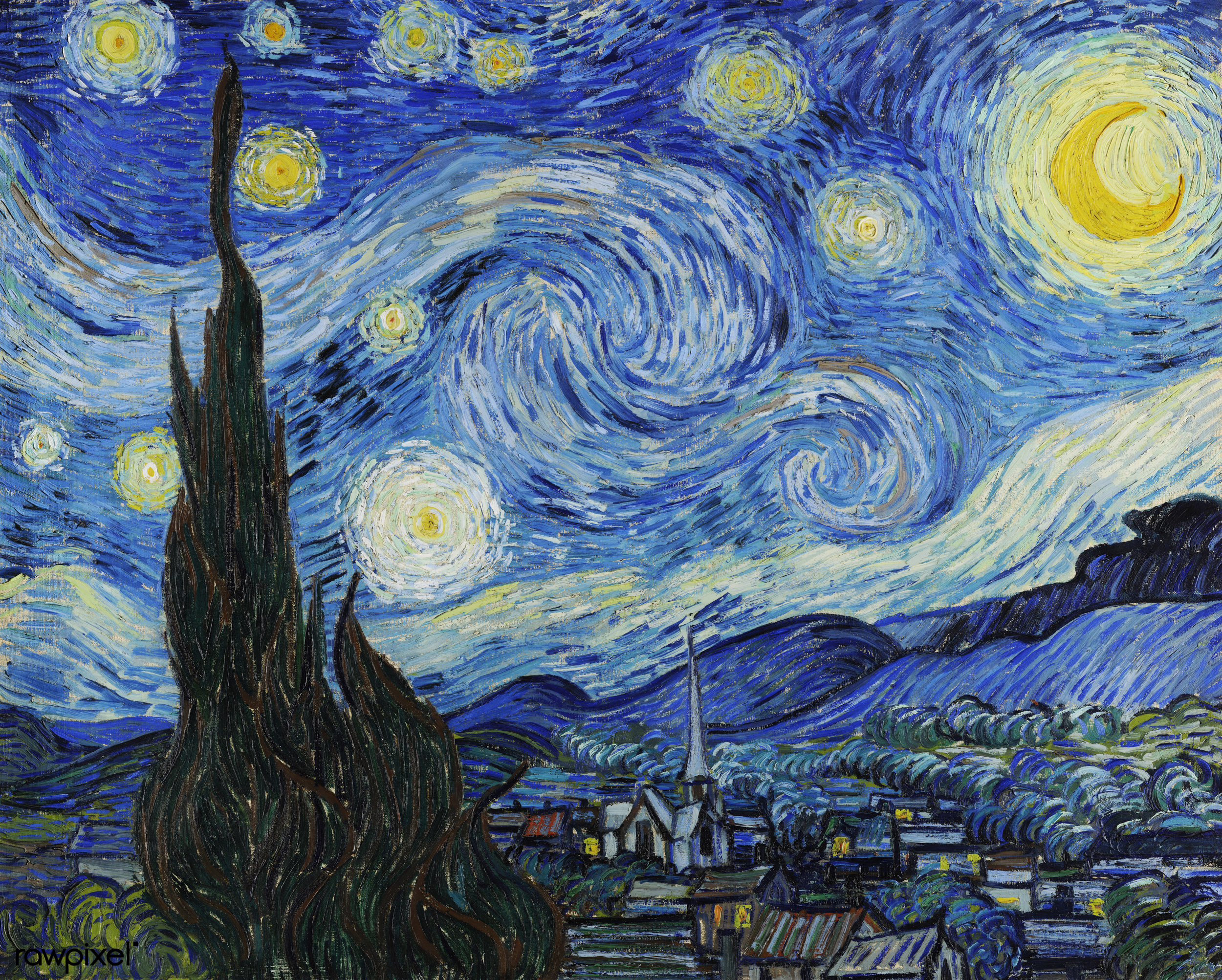 File:Vincent van Gogh's famous painting, digitally enhanced by rawpixel-com 46.jpg - Wikimedia Commons