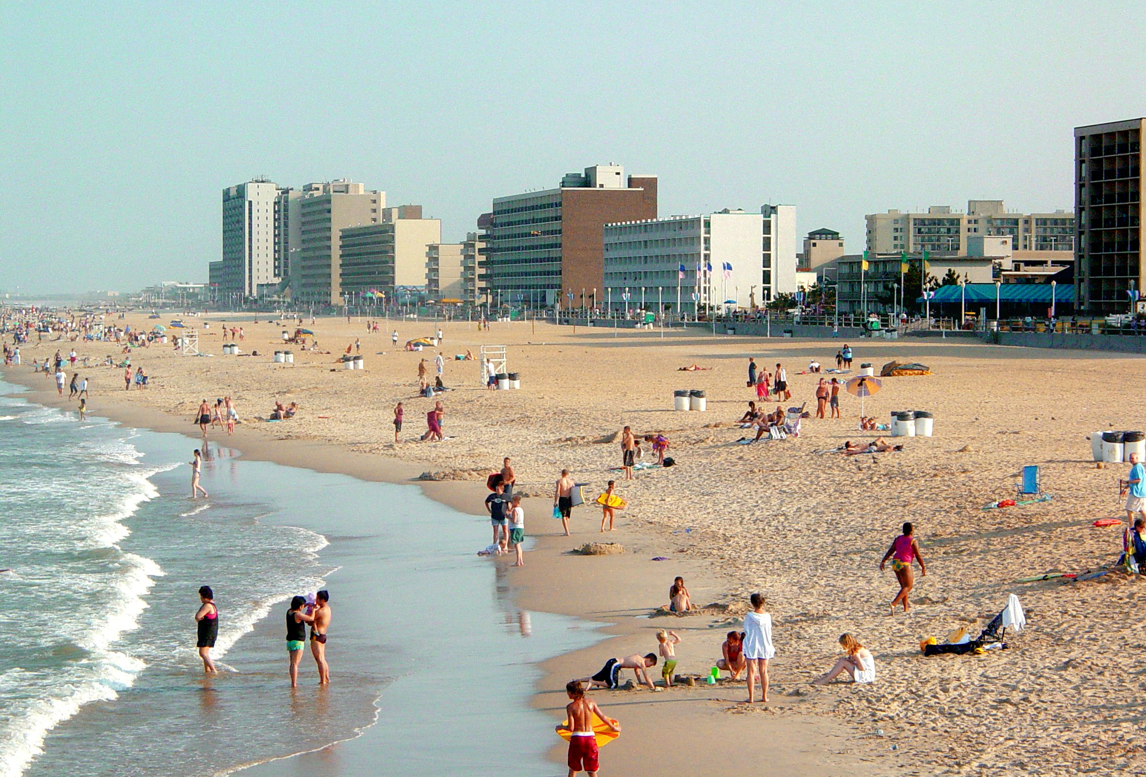 File Virginia Beach From Fishing Pier Jpg
