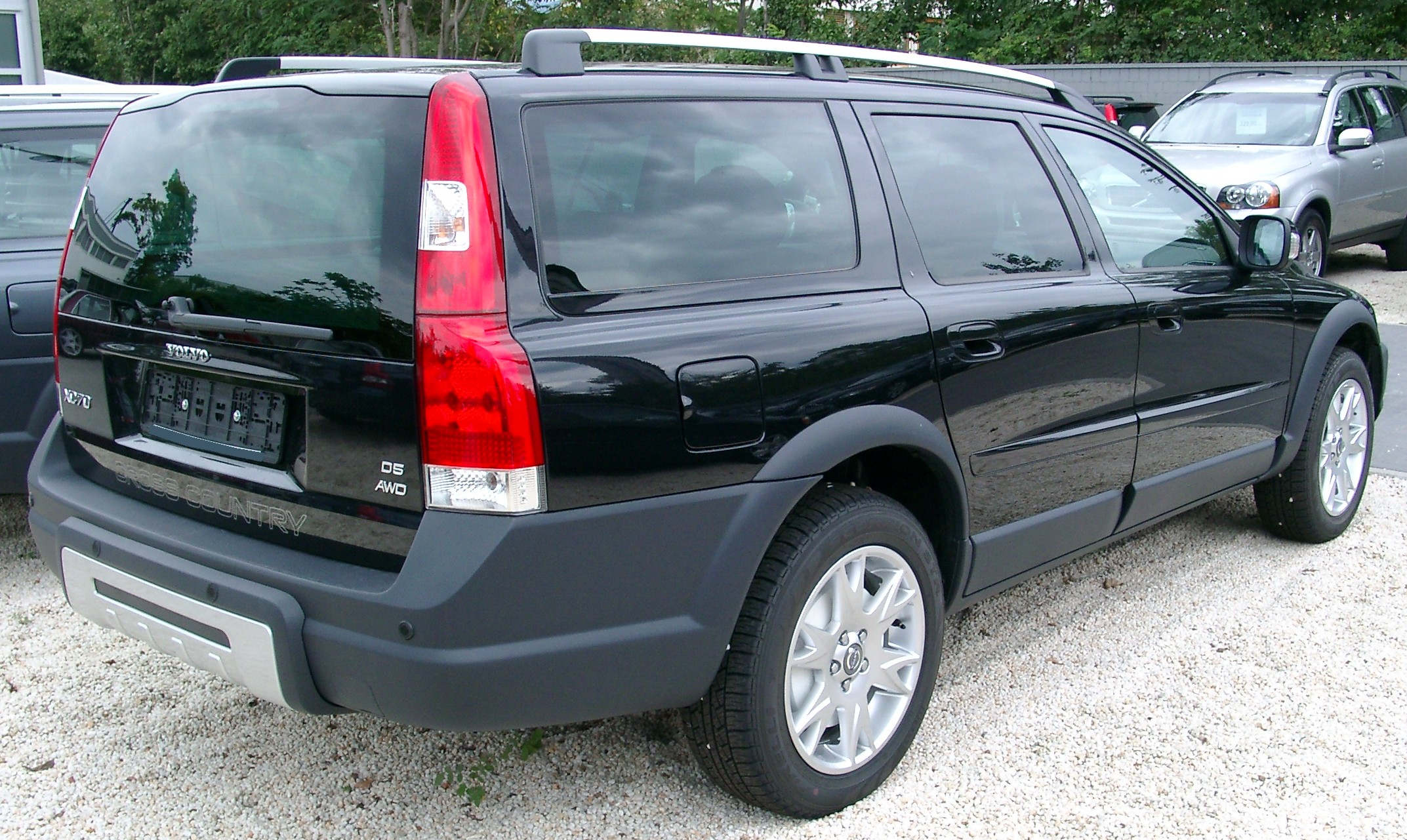 File Volvo Xc70 Rear 20070902 Jpg Wikimedia Commons
