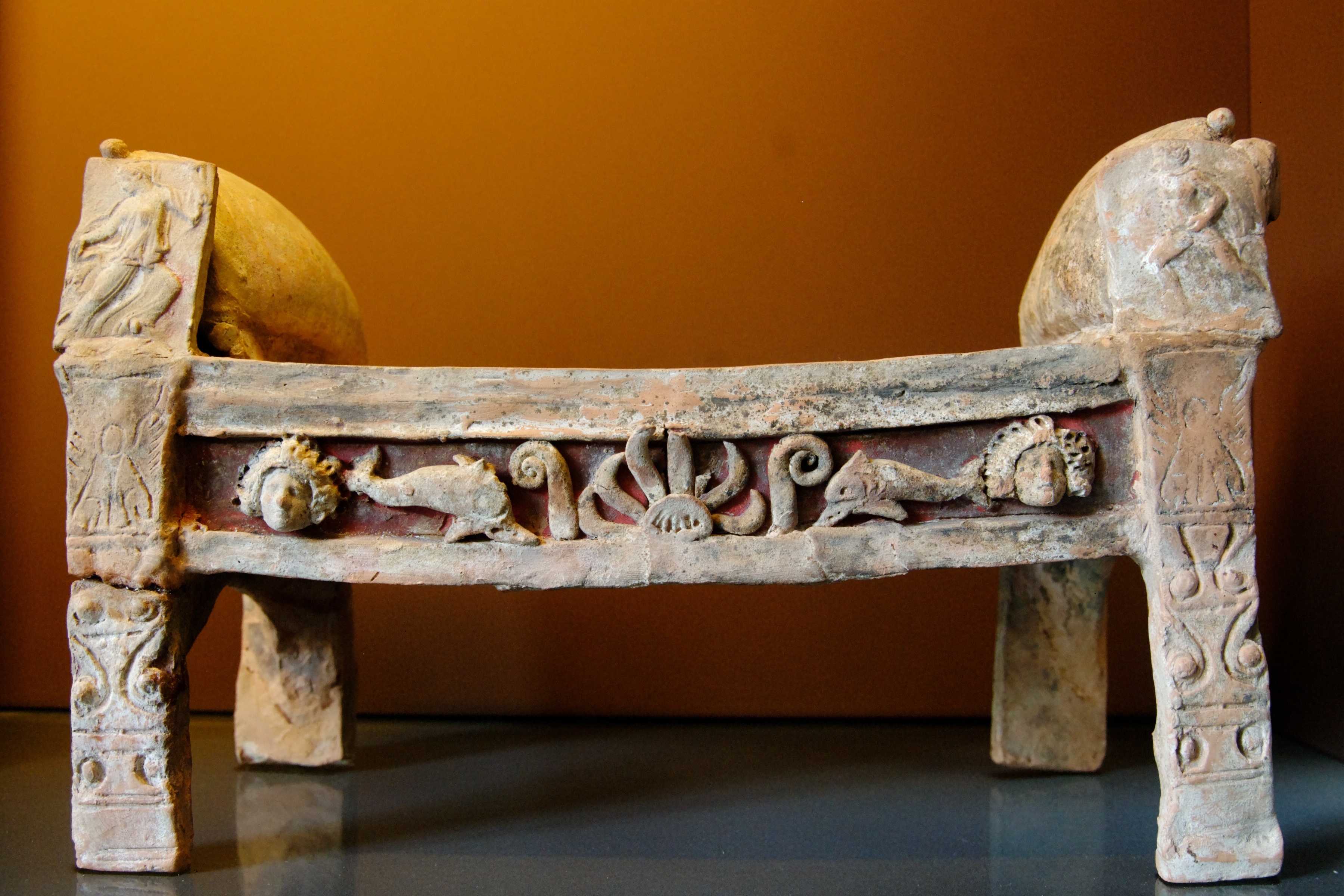 Bed Room In Ancient Greece