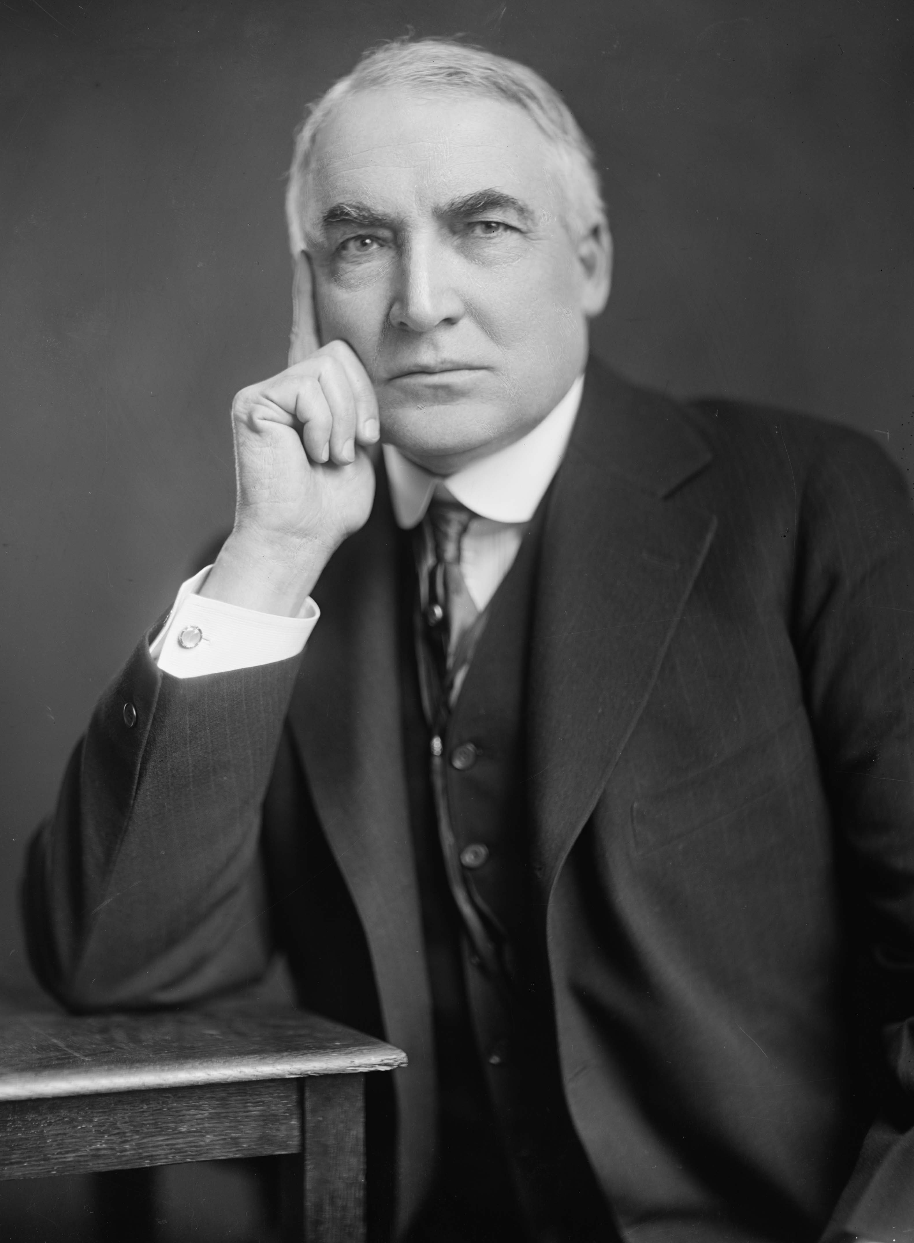 Photograph of Warren G. Harding