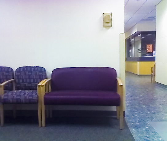 Services accommodate obese people with specialized equipment such as much wider chairs. Wide Chair.jpg