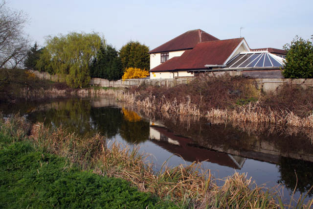 Winding hole, Grantham Canal - geograph.org.uk - 1801447