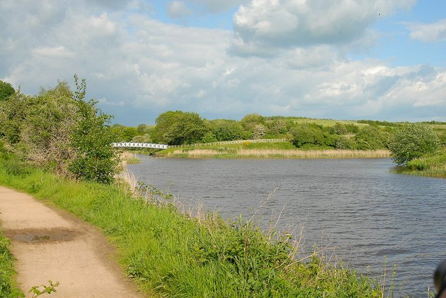 Witton Brook joins the river Weaver - geograph.org.uk - 1541201