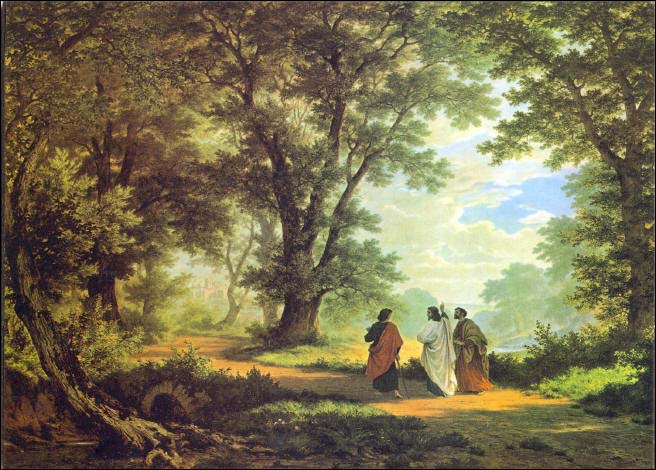 Image result for Road to Emmaus