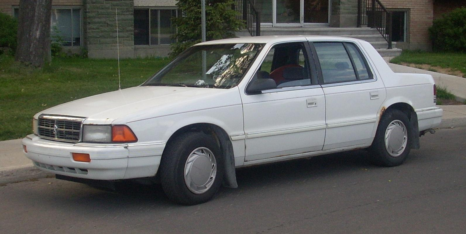 File:'91-'92 Dodge Spirit Disguised As Plymouth Acclaim.JPG ...