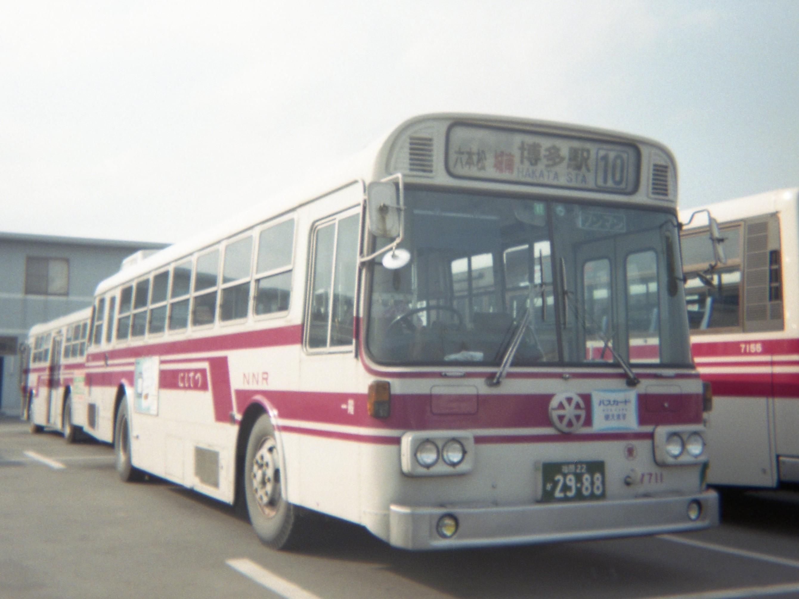 ファイル 西鉄バス7711 愛宕浜営業所所属 日野k rc301 1983年式 jpg