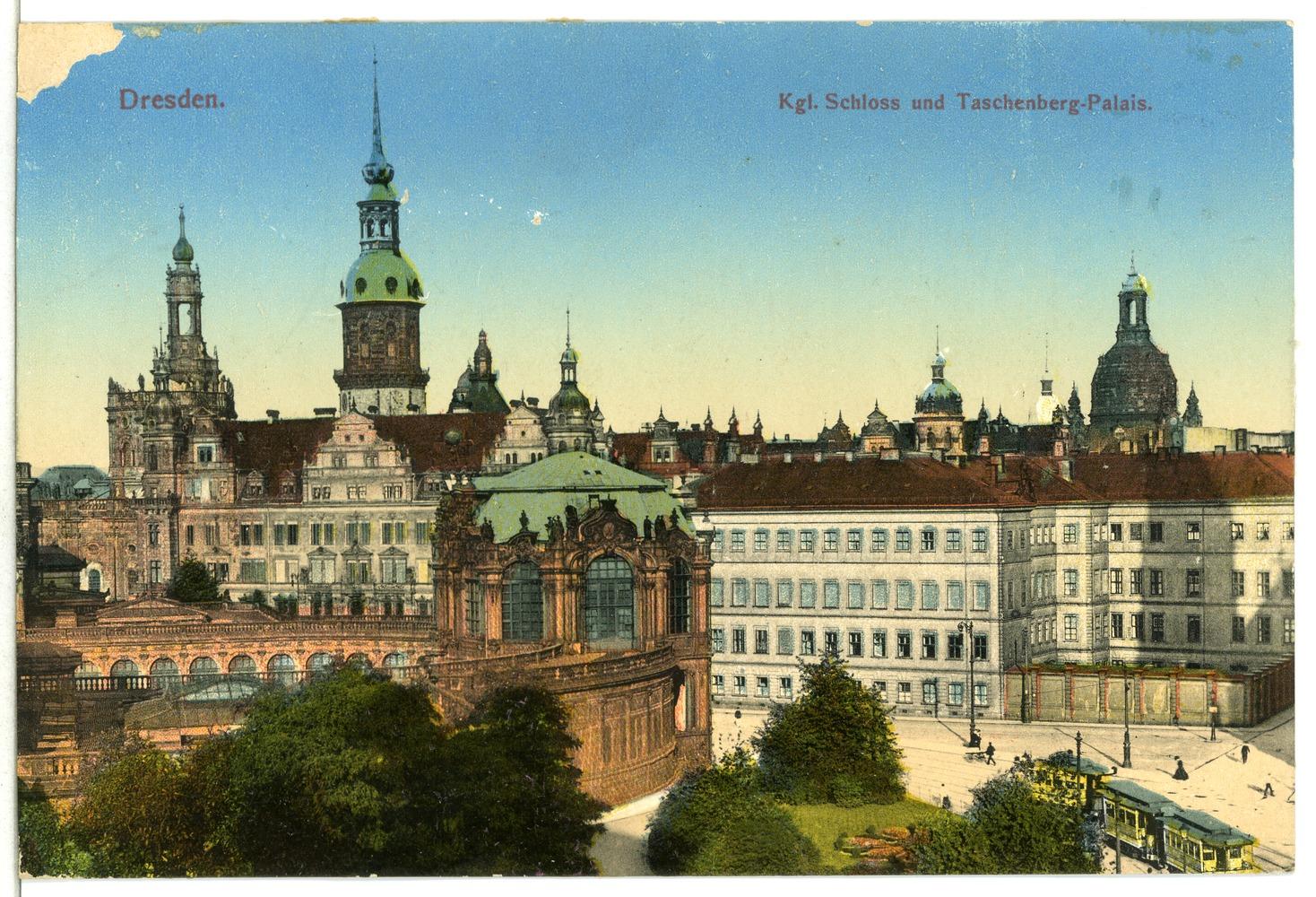 Datei:12680-Dresden-1911-Königliches Schloß und Taschenberg - Palais ...