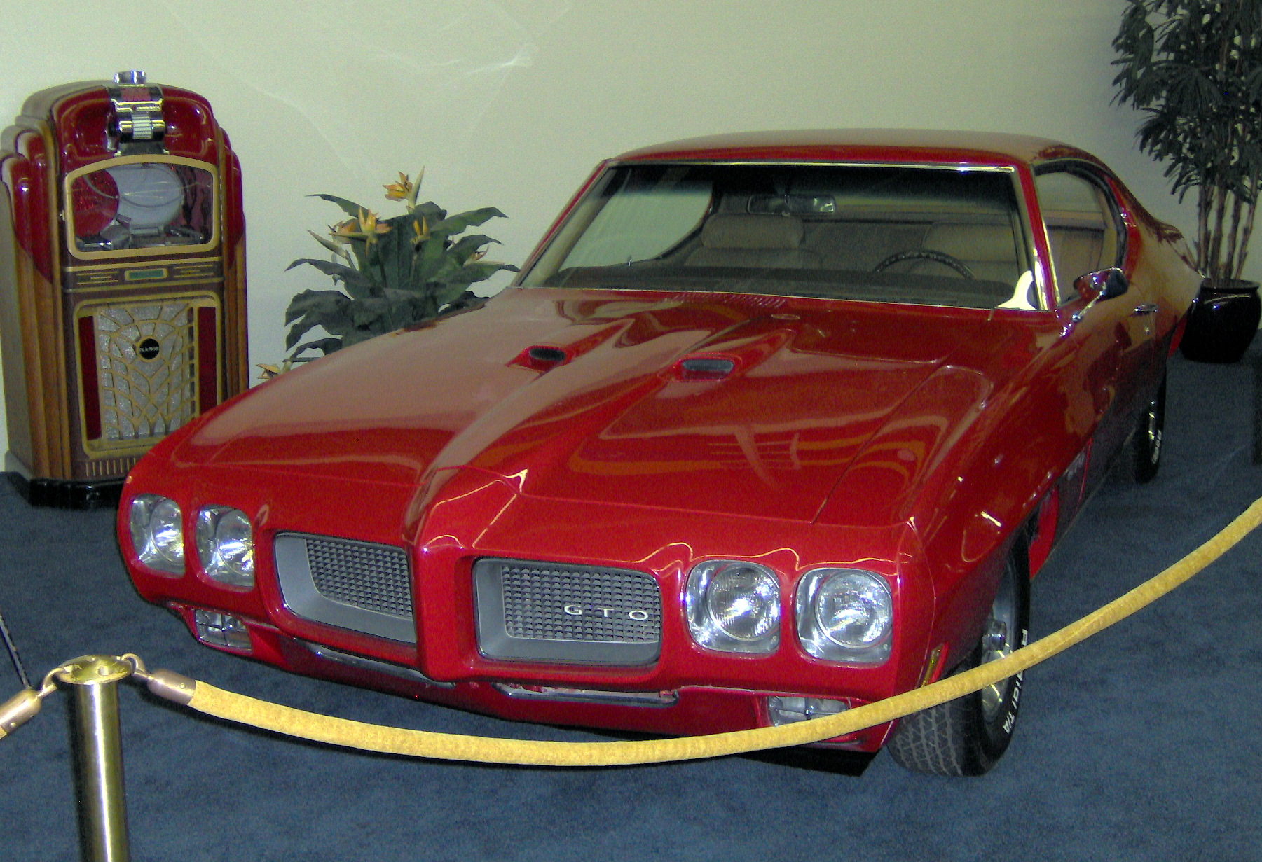 En revenant de Nangis 1970_Pontiac_GTO_Sport_Coupe