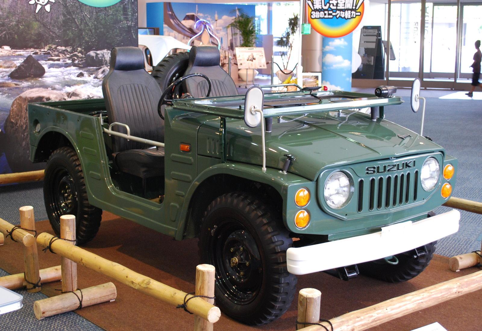 Suzuki Jimny Engine Size