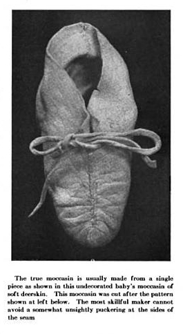 19th century knowledge indian lore one piece moccasin.jpg