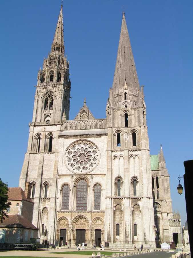 Catedral de chartres wikip dia a enciclop dia livre for Esterno in francese