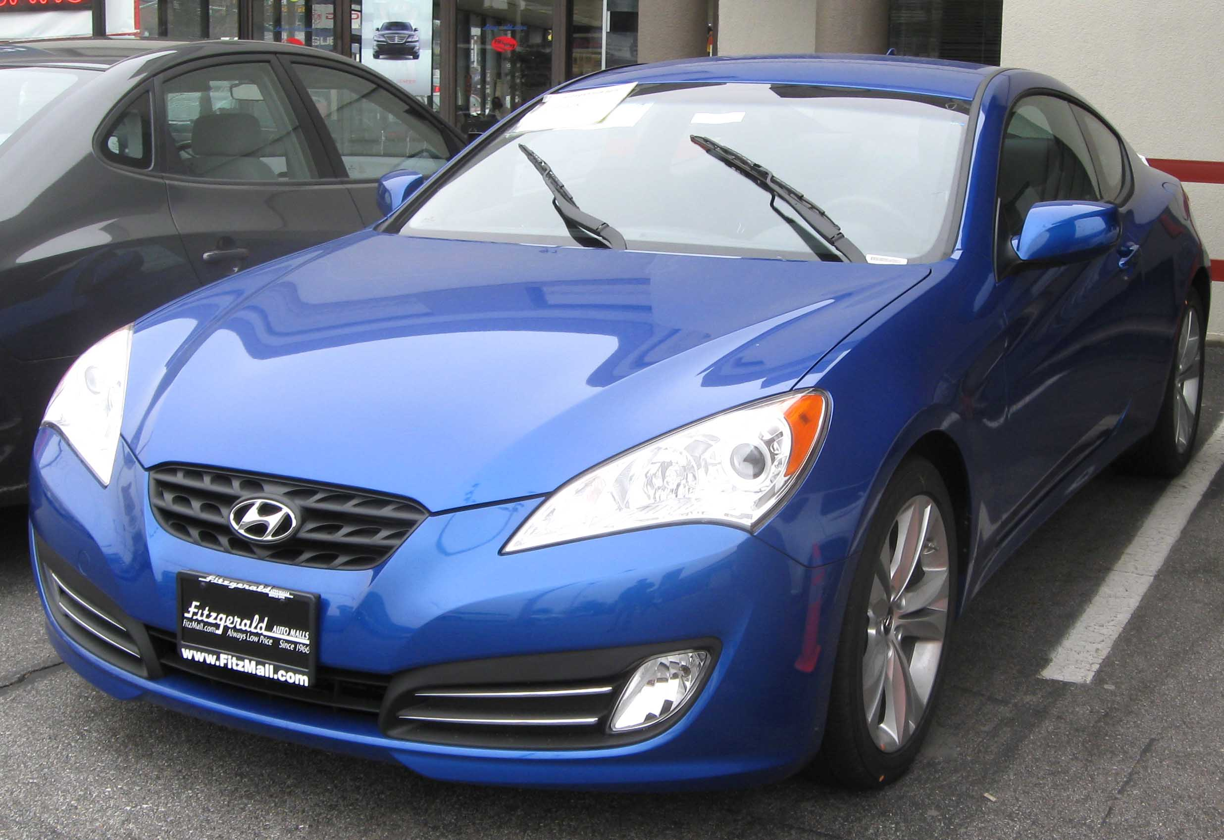 Attractive File:2010 Hyundai Genesis Coupe 3.8