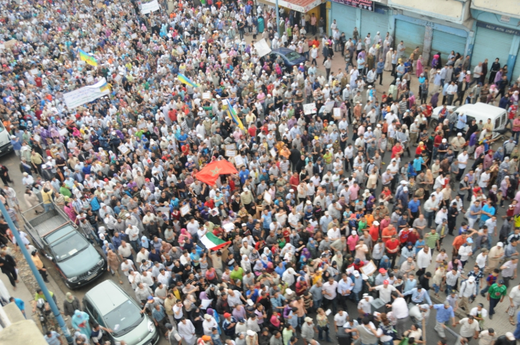 Moroccan protest