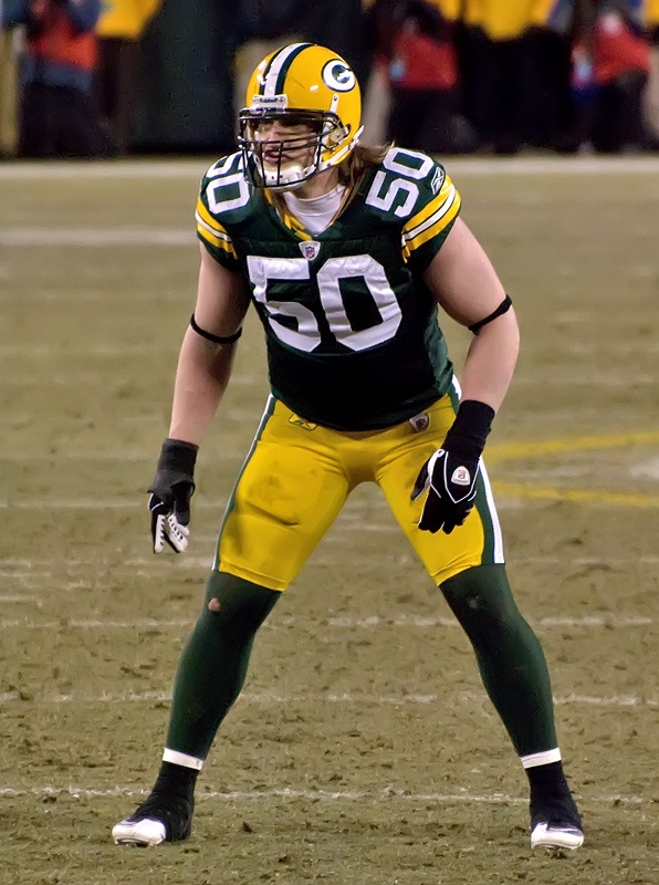 The 32-year old son of father Keith Hawk and mother Judy Hawk A.J. Hawk in 2019 photo. A.J. Hawk earned a  million dollar salary - leaving the net worth at 32 million in 2019