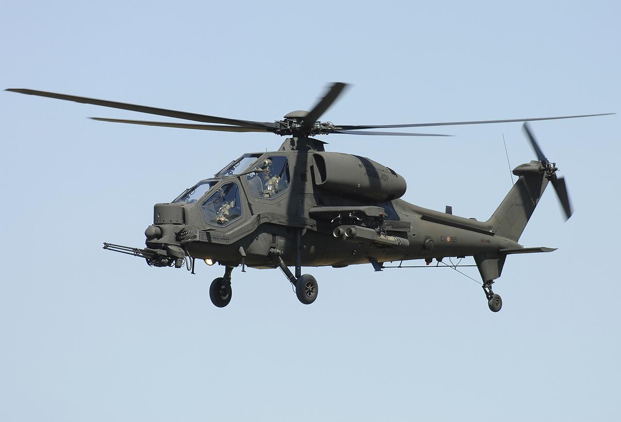 Leonardo (AgustaWestland) AW129 Mangusta | wikimedia