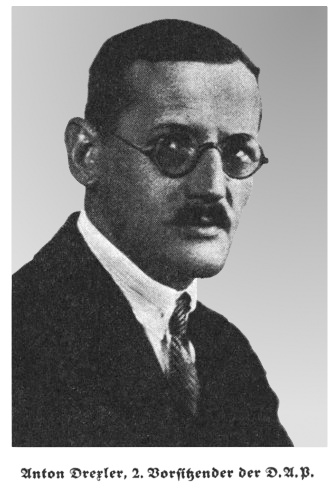 a history of the german workers union made by anton drexler One year later the german workers' party became the national  the life of adolf hitler is featured in the  formed over founder anton drexler's outrage by the.
