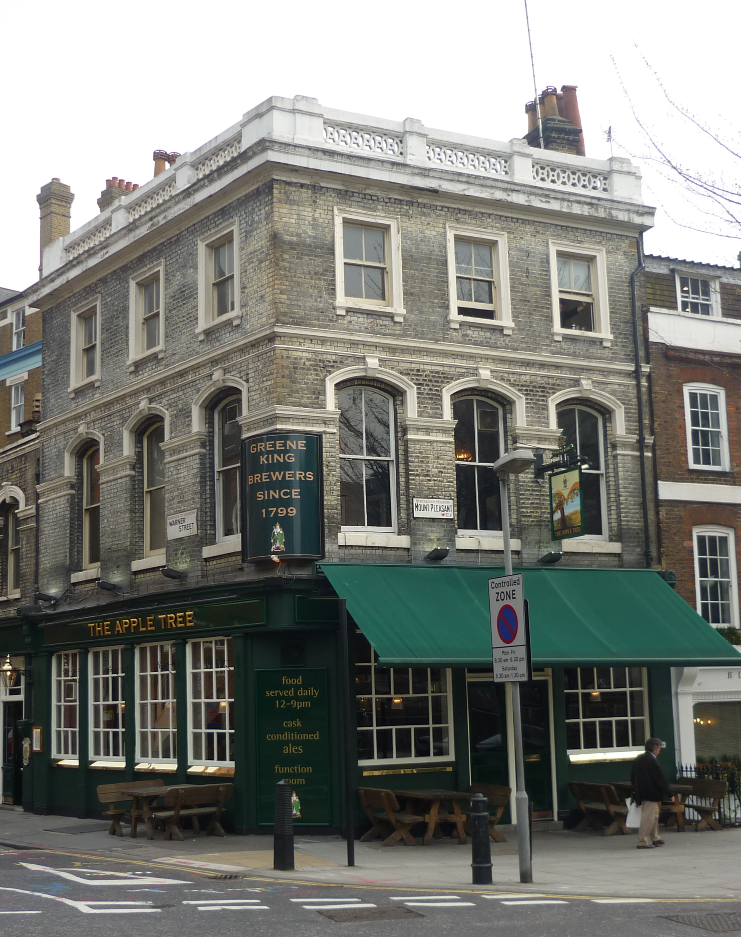 File Apple Tree Public House Clerkenwell London Wc1